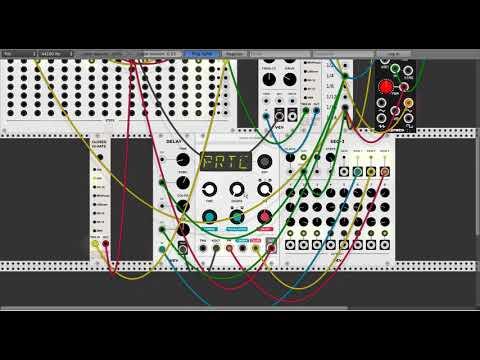 Modular Techno Live Jam with VCV Rack (Open Source Virtual Modular)