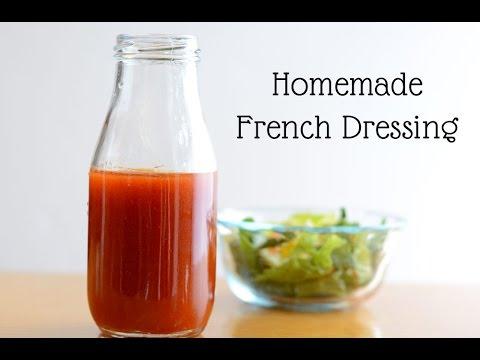 Easy Homemade French Dressing