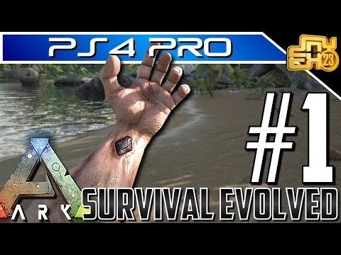 ARK on PS4 PRO - EP 1 - HOW TO LEVEL FAST IN ARK SURVIVAL EVOLVED