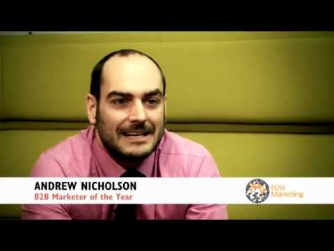 B2B marketer of the year Andrew Nicholson talks about the benefits of Lead Forensics
