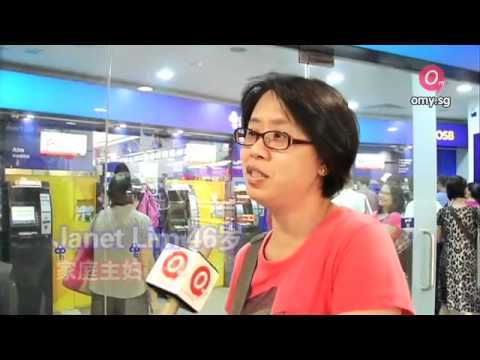 [omy News]DBS-POSB customers queue to check their bank accounts