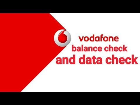 Vodafone ka balance kaise check kara