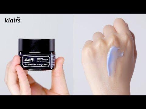 Cream To Effectively Calm Irritation & Redness Fast | KLAIRS Midnight Blue Calming Cream