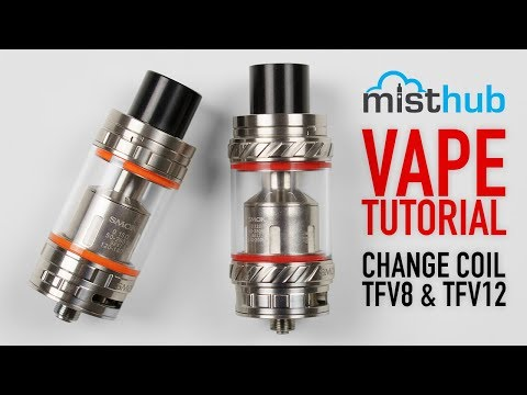 How to change coils on SMOK Alien TFV8 TFV12 Series Vape Tanks + [Priming Tutorial]