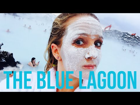 The Blue Lagoon Iceland- Swimming in Winter