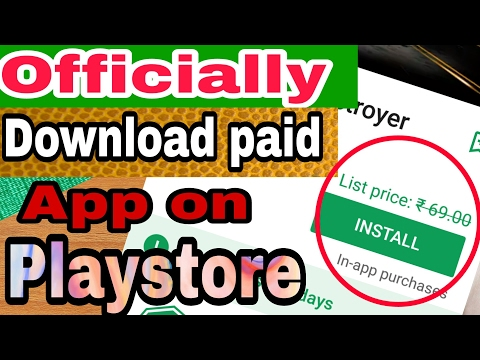 Google Play store | How to Officially Download Paid App on Play store | Free App Store by itech