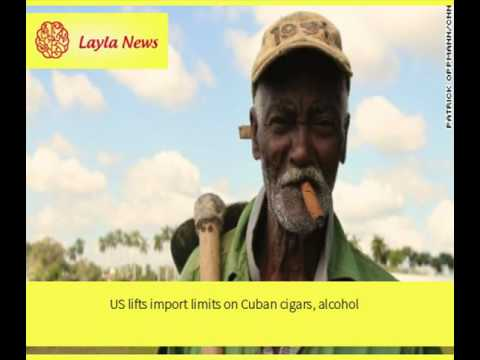 US lifts import limits on Cuban cigars, alcohol |  By : CNN
