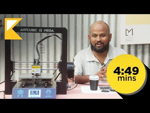 Anycubic i3 Mega 3D Printer - Review and Assembly