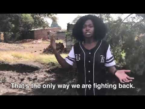 Women speaking out against coal mining in South Africa