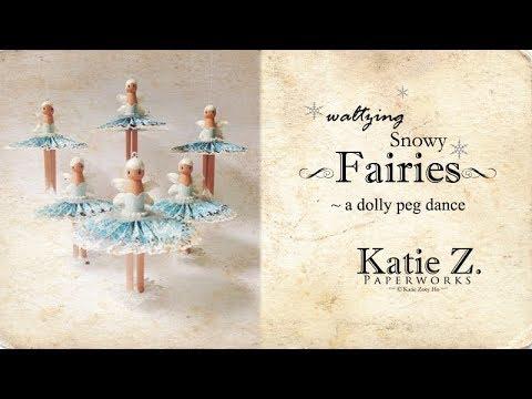 Waltzing Snowy Fairies; a Dolly Peg Dance