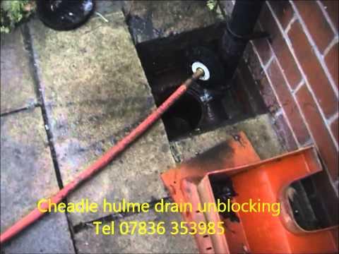Cheadle hulme drain unblocking blocked drains cheadle hulme