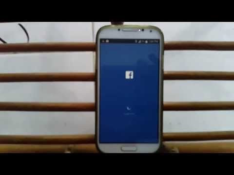 Samsung Galaxy : How to Log out Account on Facebook for Android App
