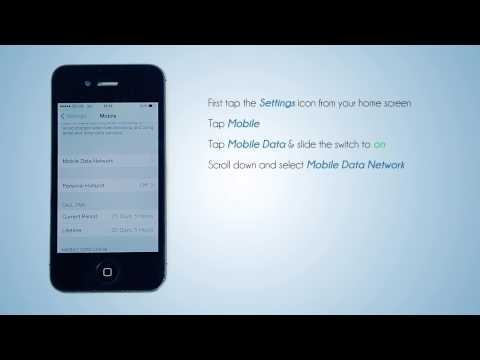 Lycamobile NL - Mobile Data Settings for your iPhone
