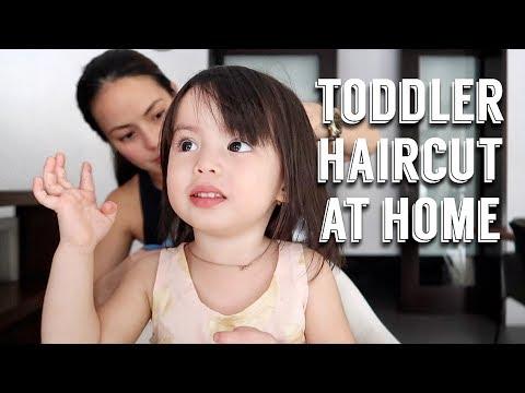 Toddler Haircut at Home | Andi Manzano