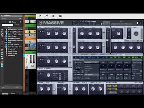 How to Make an Ambient Monster Synth with Massive