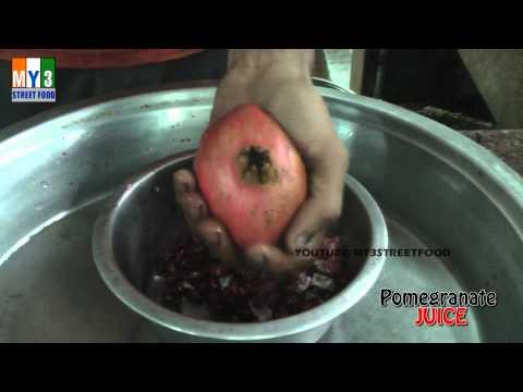 POMEGRANATE JUICE - Rajahmundry Street Foods - ANDHRA STREET FOOD