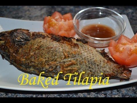 Baked/Inihaw na Tilapia