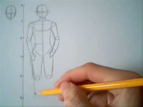 How To Draw A Male Manga Body