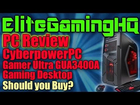 PC review: CyberpowerPC Gamer Ultra GUA3400A Gaming Desktop, Should you buy?