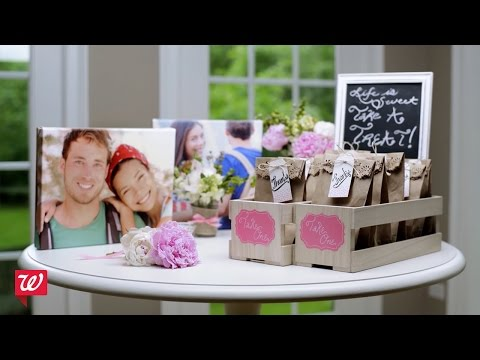 DIY Bridal Shower Ideas | Walgreens