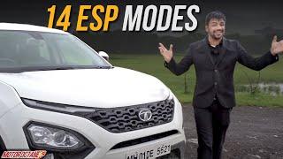 Tata Harrier - 14 ESP Modes | EXCLUSIVE | MotorOctane
