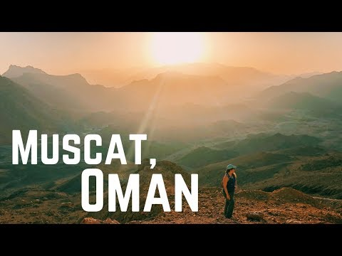 Muscat, Oman: A Culture Shock but Never-Ceasing Natural Beauty