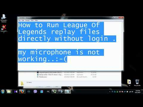 watch league of legends rofl replays without login