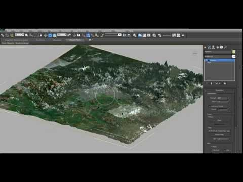 Creating a Highly Detailed 3D Terrain in 3Ds Max (with Google Earth)