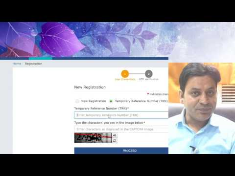 GST Portal : How to register as PRACTITIONER : Goods & Services Tax