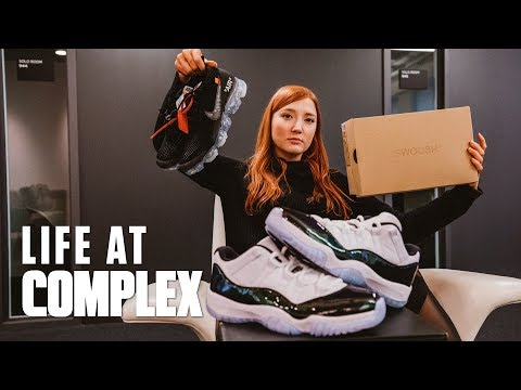 OFF-WHITE VAPORMAX & SHARK INSPIRED SNEAKERS! | #LIFEATCOMPLEX