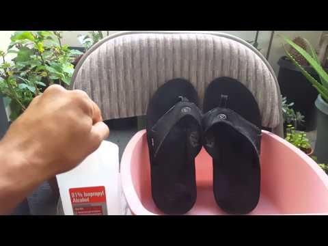 Stinky sandals remedy! Life Hacks.