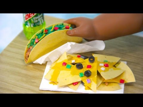 How to Make Doll Nachos and Tacos
