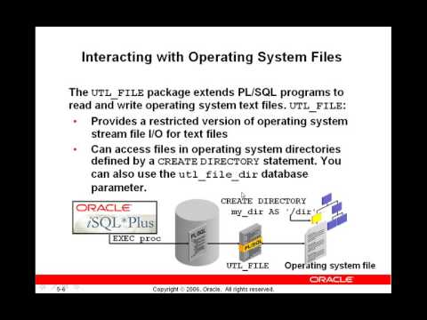 Oracle Supplied Packages 1