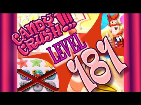 How to beat Candy Crush Saga Level 181 - 3 Stars - No Boosters - 65,880pts