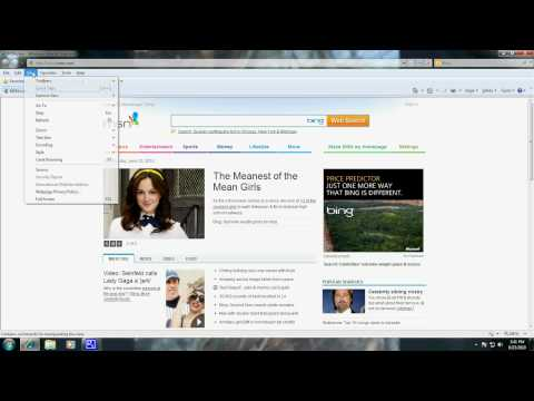 How to Change Your Homepage Internet Explorer 8 Windows 7