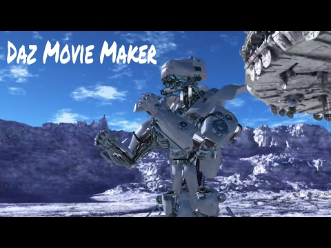 Daz Studios Movie Maker CGI Animation🎬