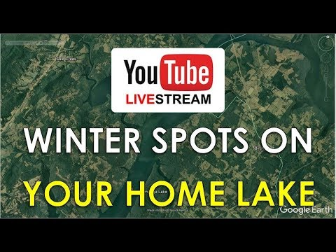 Prime Winter Bass Fishing Spots on Subscribers' Lakes | Fish the Moment Live Stream
