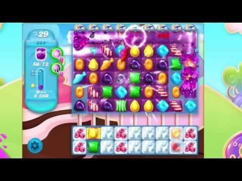 Candy Crush Soda Saga Level 384   No Booster 7 moves left