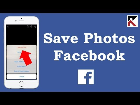 How To Save Facebook Photos To Your Phone iPhone