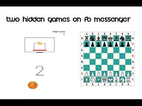TWO HIDDEN GAMES ON FACEBOOK MESSENGER