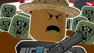 Roblox | ZOMBIE RUSH! | FIGHTING OFF GIANT ZOMBIES!!