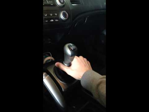 How to remove the Shift knob in a 2006-2011 Honda Civic (5 Speed)