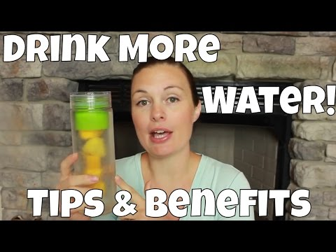 Drink More Water! Hydration Tips & Benefits