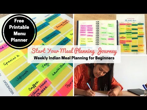 Weekly Indian Meal Plan | Start Your Meal Planning Journey | Indian Meal Prep For the Week | Saloni