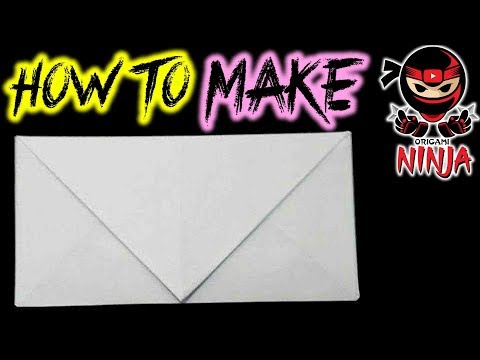 How to make: Origami Envelope