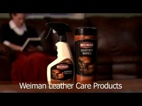 How To Clean, Condition and Protect Leather - Weiman Cleaning Tips