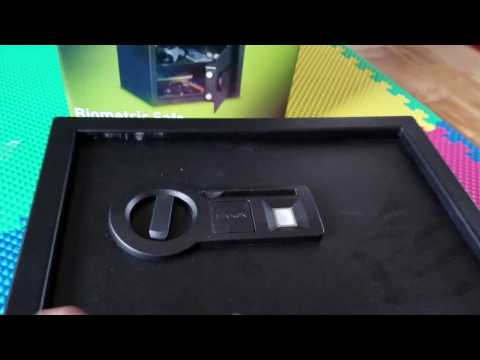 STACK-ON Biometric safe - add / unlock with new fingerprint