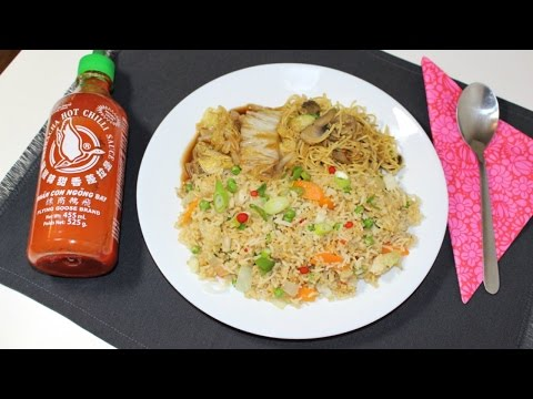 HOMEMADE VEGAN CHINESE TAKEAWAY MEAL | Chinese Cabbage Noodles Fried Rice