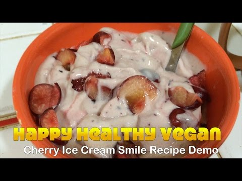 Cherry Ice Cream Smile Recipe