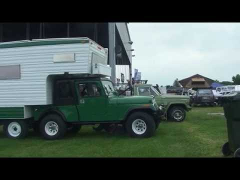 ULTRA RARE JEEP Factory CJ5 Camper - 4x6 Turbo Diesel! | Younto.com